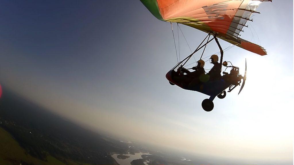 to był dobry dzień na loty motolotnią